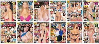 ELECTRONIC SCORE Adult Magazines 2003: Issues Jan-Dec x12 (SENT VIA EMAIL ONLY!)