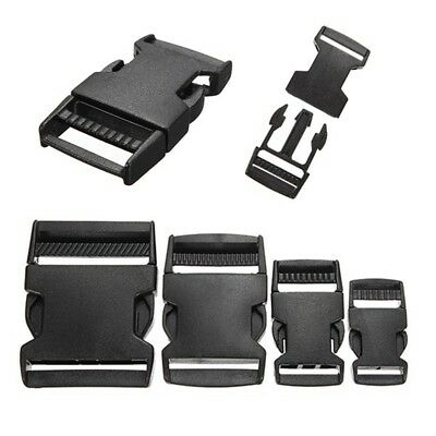 1-10 Fermoir Boucle Clip Attache Sangle Bracelet Sac Paracorde 20-50mm  Plastique 79f6f40a821