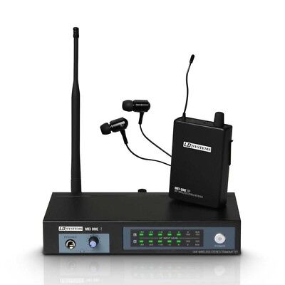 LD Systems MEIONE1 In-Ear Monitoring, 863.700Mhz