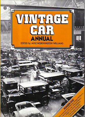 Vintage Car Annual No 1 Worthington-Williams AC Armstrong Siddeley Cyclecar +