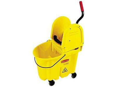 Rubbermaid Commercial 757788YW Wavebrake 35-Quart Bucket/Wringer Combinations, Y