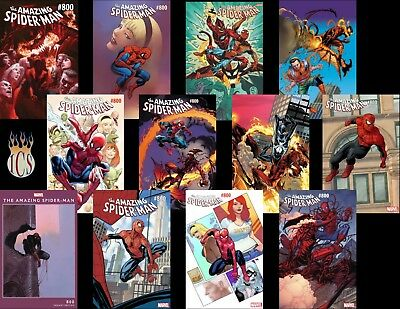 Amazing Spider-Man #800 (2018) 13-Cover Variant Set [NM] Red Goblin!!