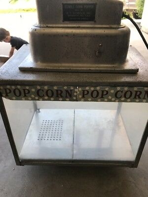 Vintage Echols Popcorn Popper Commercial Popcorn Machine, REPAIRED!!!
