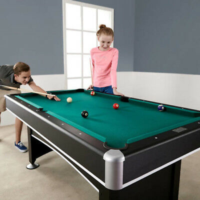 ARCADE BILLIARD POOL Table With Table Tennis Top Accessory Kit - 6 1 2 foot pool table