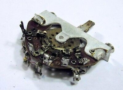 1961 CRL 3-Way Toggle Switch For Electric Guitar 3 Patent Blade USA Made 208-10