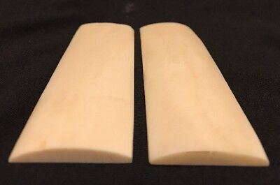 Real Camel Bone Knife Scales 125x35x6mm Knife Making Projects Parts Supplies