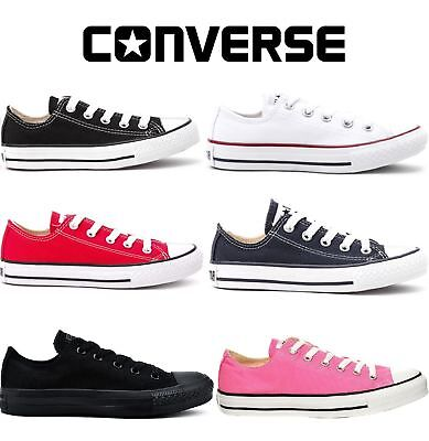 NEWConverse Classic Chuck Taylor Low Trainer Sneaker All StarOXsizes Shoes3.5-11