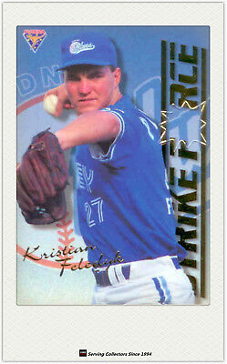 1995 Futera ABL Cards Strikeforce/ Firepower SF-FP8 K.Feledyk / Brendan Kingman