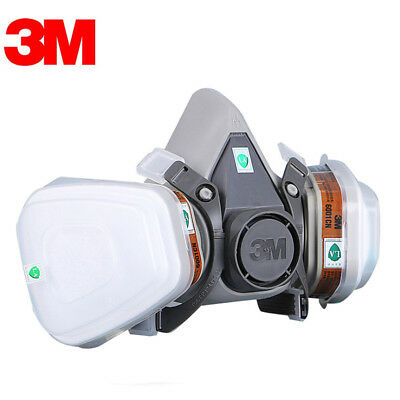 3M 6200 7502 Gas Mask Respirator Painting Spraying  Cotton Filter/Cartridge