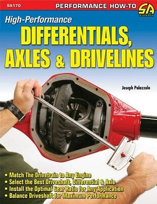 S-A Books High Performance Differentials, Axles and Drivelines P/N 170