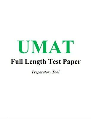 UMAT Preparation Material. 18 full-length exams. 1900+ Qs & worked solutions