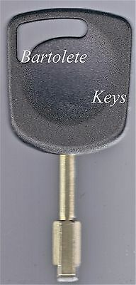 Replacement Transponder Key Blank Fits 2010 2011 2012 Ford Transit Connect