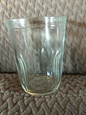 Coffee Catch Cup Glass Jar fits Vintage Arcade Wall Mount Coffee Grinders