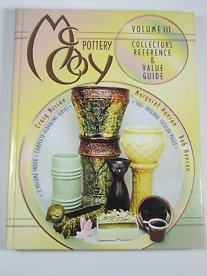 McCoy Pottery Volume III Collector's Reference & Value Guide Hanson Nissen 2002