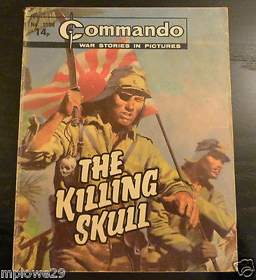 Commando Comic War Stories In Pictures  THE KILLING SKULL   No 1508