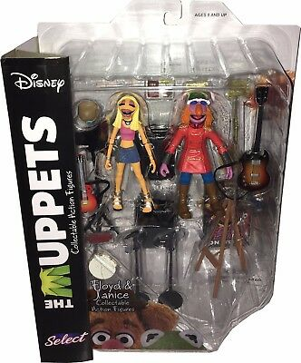 MUPPET SHOW Actionfiguren (Muppets Select) Wave 3: FLOYD & JANICE