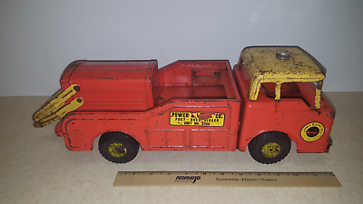 REPLACEMENT  NYLINT POWER AND LIGHT BOOM UNPAINTED PRESSED STEEL TOYS