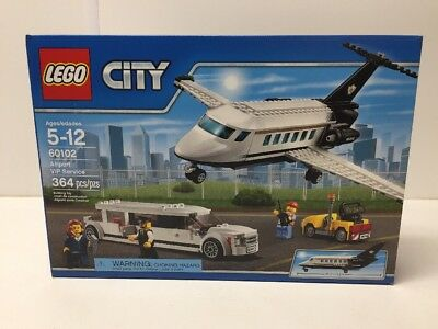 LEGO CITY Airport VIP Service Set w Limo, Plane Limousine 60102 NEW ...