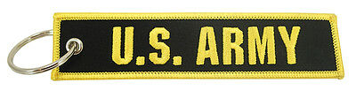 US Army Keychain - Embroidered