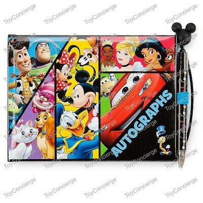 DISNEY Store AUTOGRAPH Book MICKEY & FRIENDS (Sealed) w/Pen 2017 NEW
