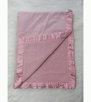 Carters Baby Blanket Pink Thank Heaven For Little Girls Chenille