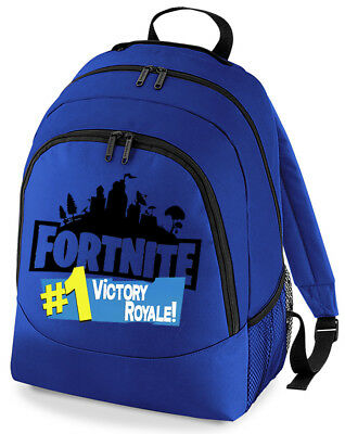 Gaming Victory 1 Royale Backpack Rucksack School Bag