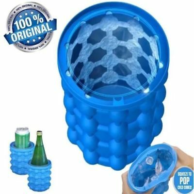 Hot Magic Ice Cube Maker Genie The Revolutionary Space Saving Ice Cube Maker
