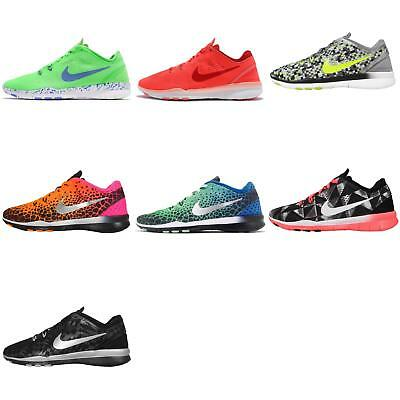 pretty nice 6ae95 c2ff6 Wmns Nike Free 5.0 TR Fit 5 Print   Brthe Womens Training Trainers Size  Pick 1