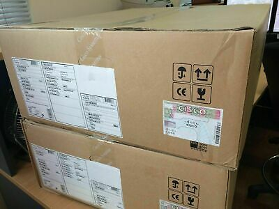 New CISCO ASR1002-X Chassis, AIS Loaded 6 built-in GE, Dual AC Powers, 4GB DRAM