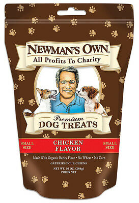 NEWMAN'S OWN - Organics Premium Dog Treats Chicken Small - 10 oz. (284 g)