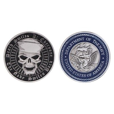 Alloy American Navy Army Commemorative Coin Collection Art Gift Souvenir