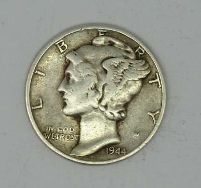 United States Of America Silver One Dime Coin-1944
