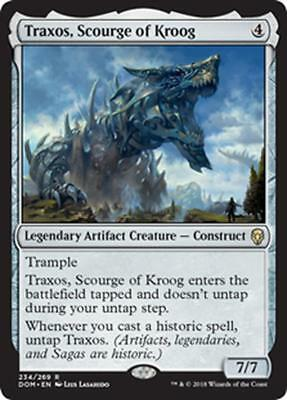 TRAXOS, FLAGELLO DI KROOG - TRAXOS, SCOURGE OF KROOG Magic DOM Mint