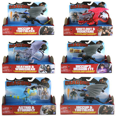 Dreamworks Dragons Dragon Riders, CHOICE OF PACK, ONE SUPPLIED, NEW