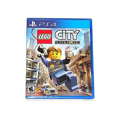 LEGO City Undercover (Sony PlayStation 4, 2017) *** BRAND NEW ***