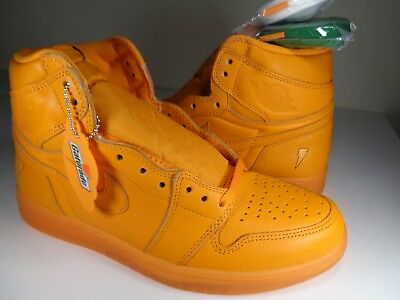 Nike Air Jordan 1 Retro HI OG G8RD Gatorade Orange Peel SZ 10 (AJ5997-880)