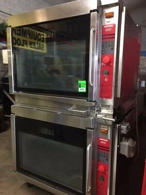 Hardt Inferno GC Chicken Rotisserie Doublestack Oven w/ Power Soak Skewer Washer