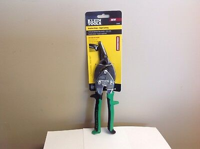 Klein Tools J1101R Aviation Snips, Right Cutting.