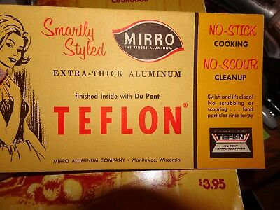 Vintage Modern Mirro Cookware Teflon, Products & Directions,Cookbook