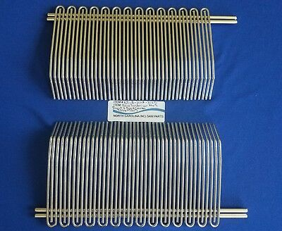 """FRONT & BACK WIRE COMB FOR BIRO SIR STEAK PRO 9 3/8"""" SPACING Ref # T3116 T3117"""