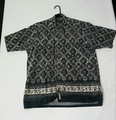 fa2d6152f VINTAGE 90S NAUTICA All Over Print S/s Button Up Shirt M - $15.00 ...