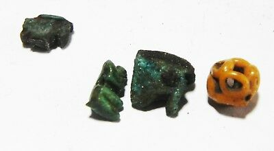 Zurqieh - As4592- Ancient Egypt, Group Of Amulets. 1300 - 300 B.c