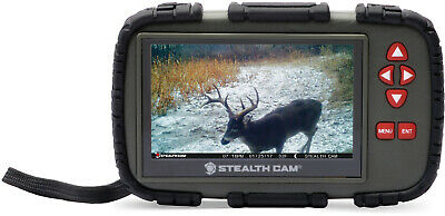 "Stealth Cam SD Card Reader/Viewer with 4.3"" LCD Touch Screen"