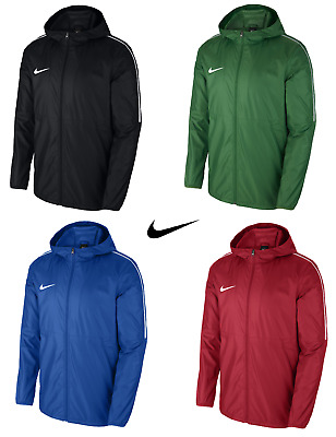 Boys Junior Lightweight Nike Rain Jacket Waterproof Coat Hoodie Wind Stopper