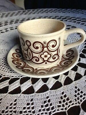 VINTAGE STAFFORDSHIRE TABLEWARE Biltons Celtic Rose Pattern Cup ...