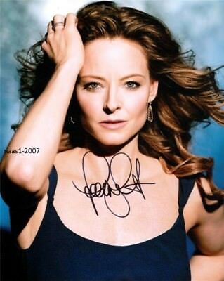 4x6 SIGNED AUTOGRAPH PHOTO PRINT OF JODIE FOSTER #50