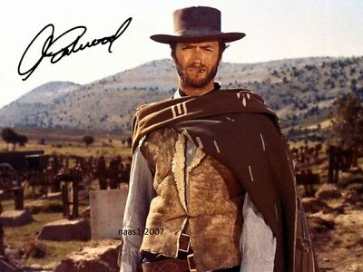 4x6 SIGNED AUTOGRAPH PHOTO PRINT OF CLIENT EASTWOOD #50