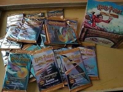 Harry Potter Quidditch trading card game TCG 1 SEALED PACK. OF 11 RANDOM CARDS