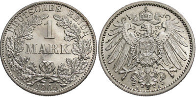 GERMANY: 1909 A 1 Mark #WC69467