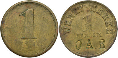 GERMANY: ND 1 Werthmark Token #WC71170